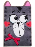 """Обложка для паспорта """"Кошка с бантиком"""""""
