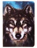 """Обложка для паспорта """"Ночной волк"""""""