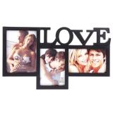 "Фоторамка коллаж на 3 фото ""Love"""