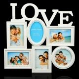 """Фоторамка на 6 фото """"Love"""""""